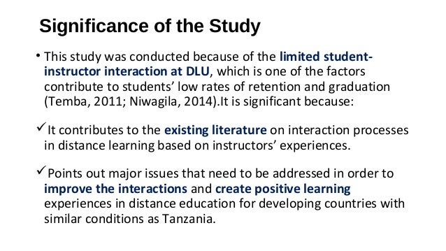 significance of open and distance learning A systems approach to open and distance learning functions of open and distance learning  • recognition of the importance of equity in curriculum and pedagogy.