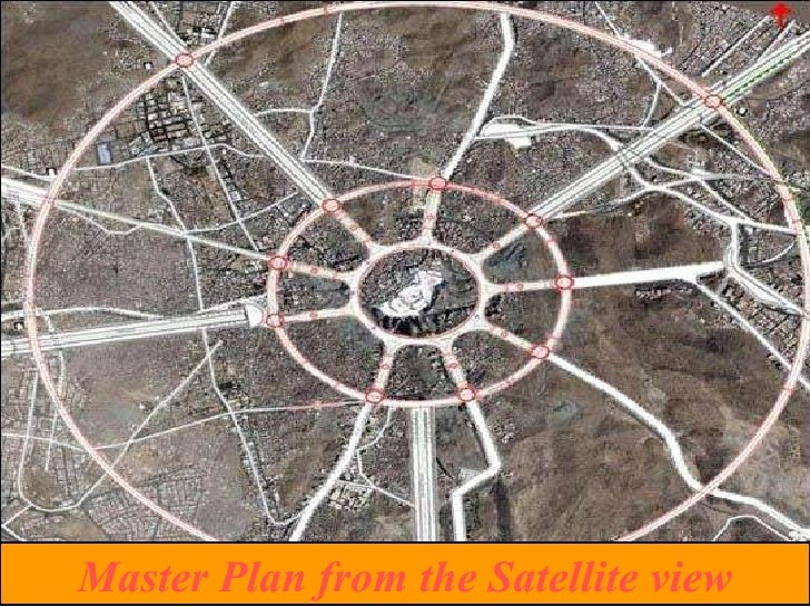 Master Plan from the Satellite view