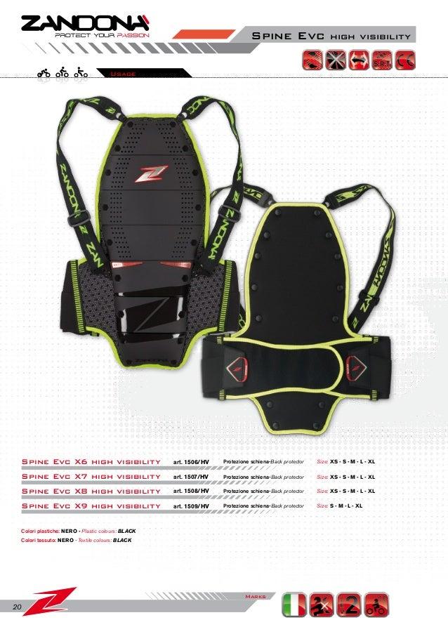 Nero S Zandon/à Paraschiena Spine EVC X6