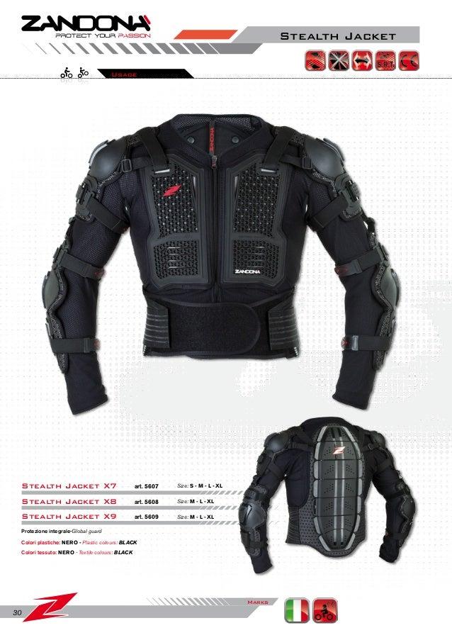 Nero Zandon/à Paraschiena Shield Evo X5 XL