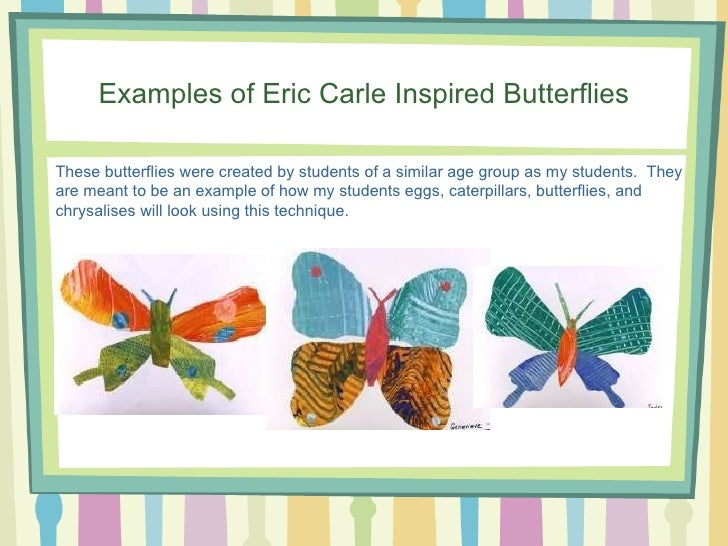 Kindergarten Butterfly Life Cycle