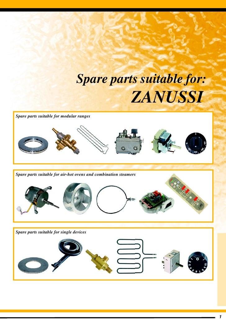 Zanussi cooking