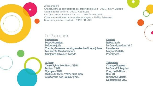 Le Parcours Discographie Chants, danses et musiques des traditions juives - 1981 / Mary Mélodie Adama danse la terre - 199...