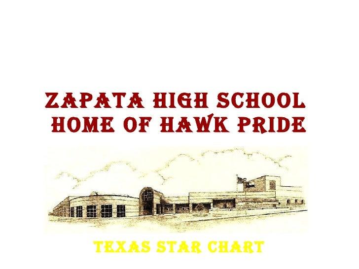 Zapata High School  Home of Hawk Pride Texas STaR Chart
