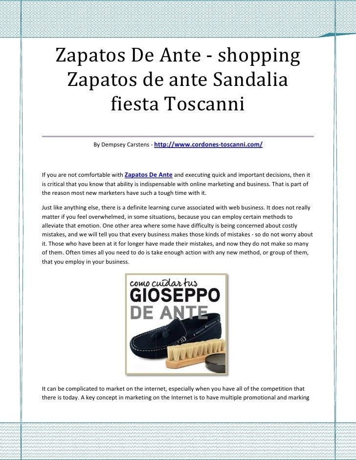 Zapatos De Ante - shopping   Zapatos de ante Sandalia         fiesta Toscanni___________________________________          ...