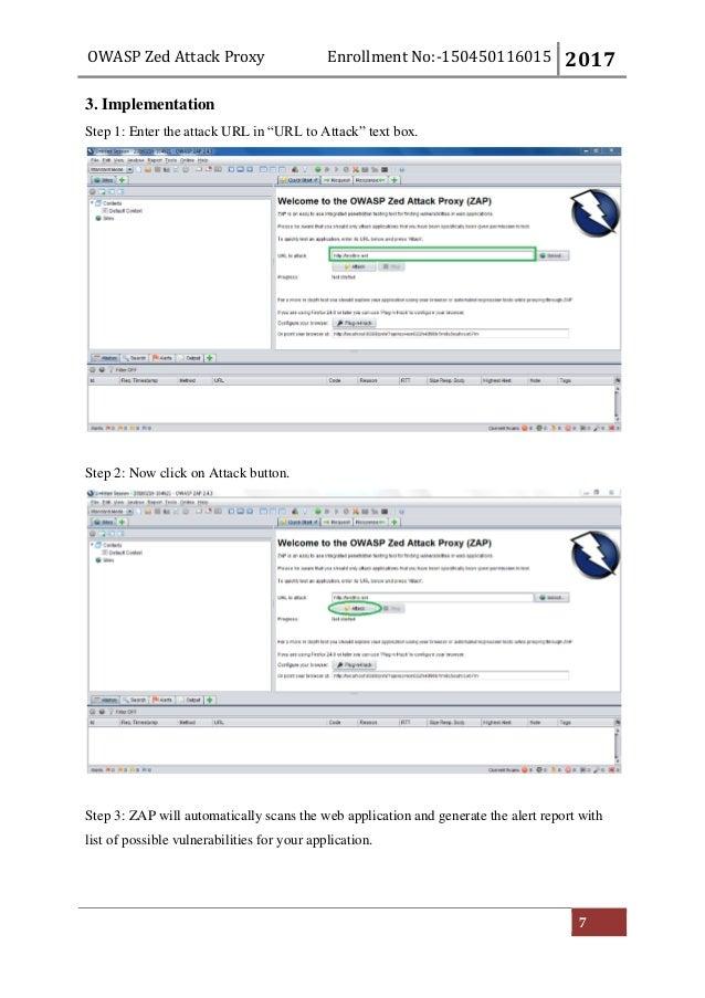 Zed Attack Proxy (ZAP)