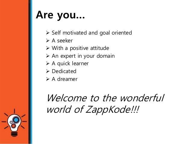 Zappkode: Opportunity for interns   Slide 2