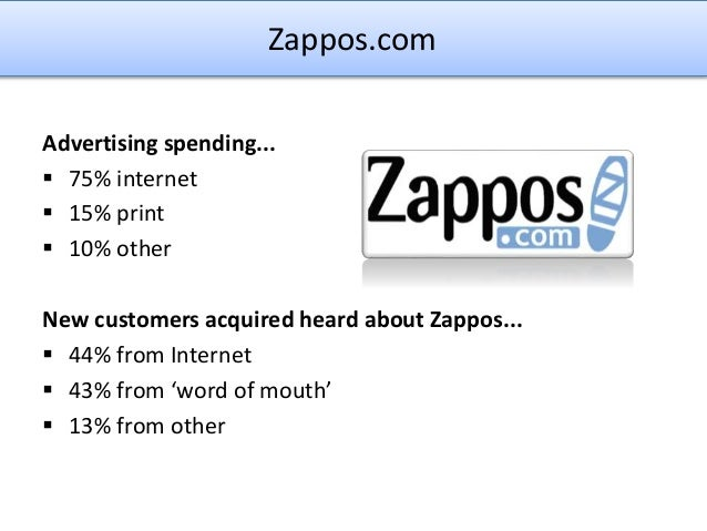 Zappos.com: Developing a Supply Chain to Deliver WOW!