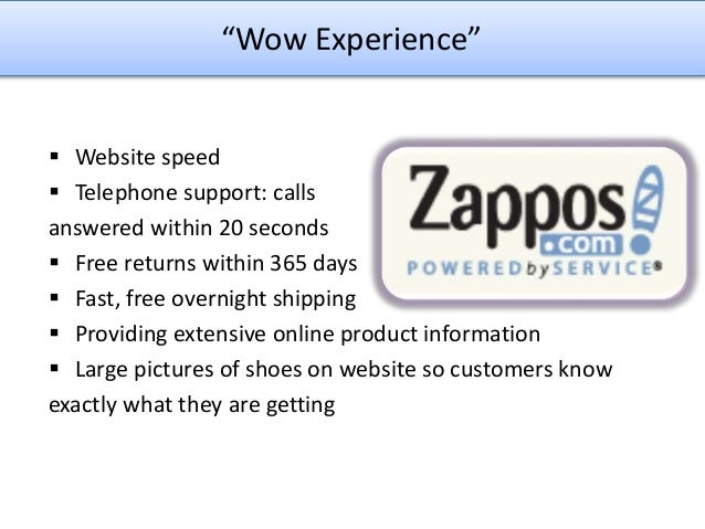 zappos com developing a supply chain to Zapposcom: developing a supply chain to deliver wow zapposcom:developing a supply chain to deliver wowstanford graduate school of businessdavid hoyt.