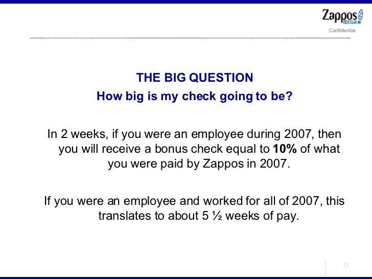 <ul><ul><li>THE BIG QUESTION </li></ul></ul><ul><ul><li>How big is my check going to be? </li></ul></ul><ul><ul><li>In 2 w...