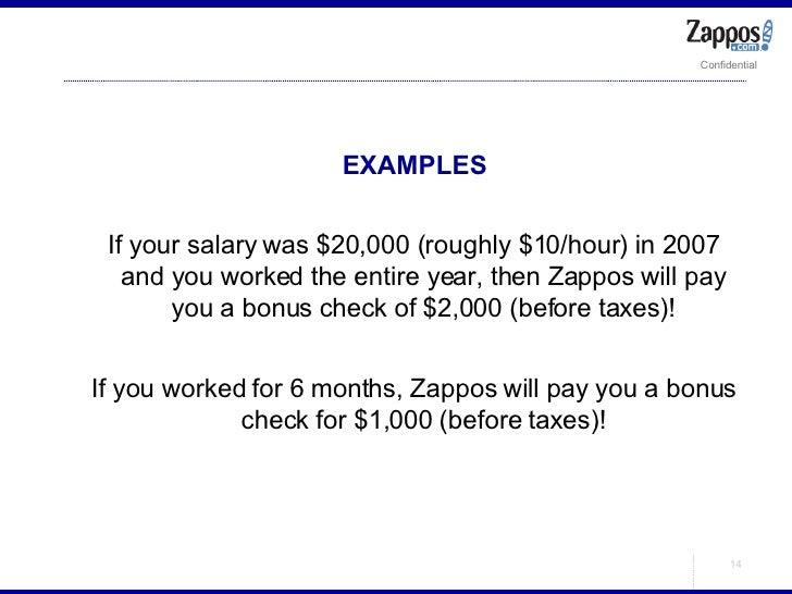 <ul><ul><li>EXAMPLES </li></ul></ul><ul><ul><li>If your salary was $20,000 (roughly $10/hour) in 2007 and you worked the e...