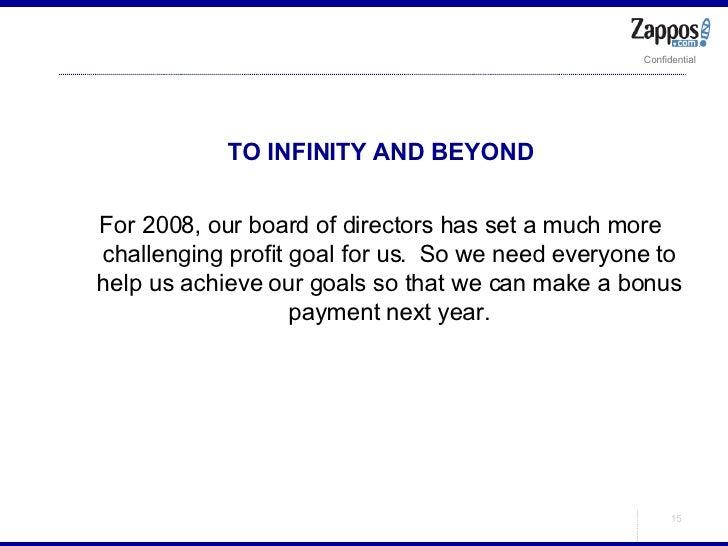 <ul><ul><li>TO INFINITY AND BEYOND </li></ul></ul><ul><ul><li>For 2008, our board of directors has set a much more challen...