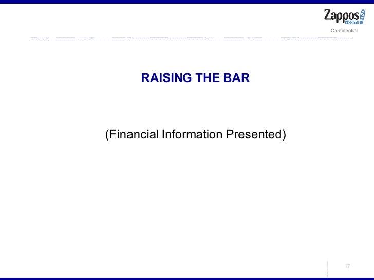 <ul><ul><li>RAISING THE BAR </li></ul></ul><ul><ul><li>(Financial Information Presented) </li></ul></ul>