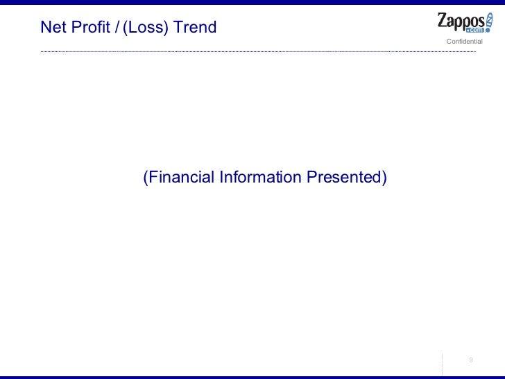 Net Profit / (Loss) Trend <ul><ul><li>(Financial Information Presented) </li></ul></ul>