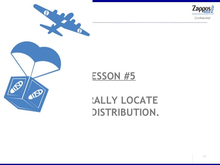 LESSON #5 CENTRALLY LOCATE YOUR DISTRIBUTION.