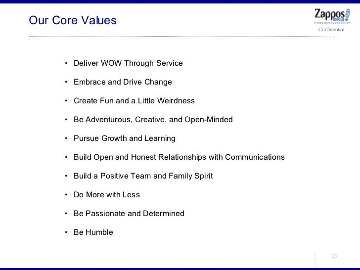 Our Core Values <ul><ul><li>Deliver WOW Through Service </li></ul></ul><ul><ul><li>Embrace and Drive Change </li></ul></ul...