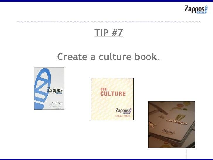TIP #7 Create a culture book.