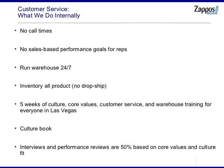 Customer Service: What We Do Internally <ul><ul><li>No call times </li></ul></ul><ul><ul><li>No sales-based performance go...