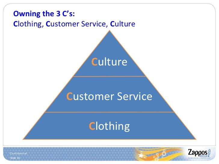 Owning the 3 C's: C lothing,  C ustomer Service,  C ulture C ustomer Service C lothing C ulture