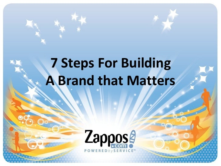 7 Steps For Building A Brand that Matters