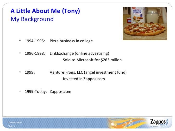 A Little About Me (Tony) My Background <ul><ul><li>1994-1995: Pizza business in college </li></ul></ul><ul><ul><li>1996-19...