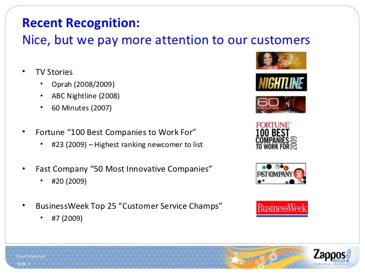 Recent Recognition: Nice, but we pay more attention to our customers <ul><li>TV Stories </li></ul><ul><ul><li>Oprah (2008/...