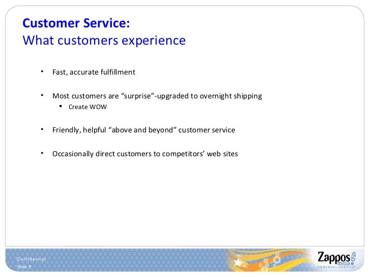 Customer Service: What customers experience <ul><ul><li>Fast, accurate fulfillment </li></ul></ul><ul><ul><li>Most custome...