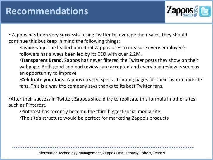 zappos case analysis Zappos organizational chart in 2011-2013 (source: wwwzapposinsightscom)   44 figure 9 zappos case analysis: evaluated factors.
