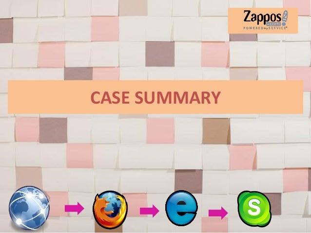 Zappos.Com: Focus on Customer Service