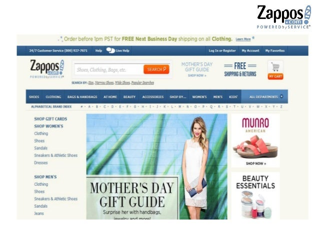 YEAR Milestones 2006 - Nick Swinmurn leaves Zappos - Gross sales at Zappos climb to $597 million 2007 - 6pm.com is acquire...