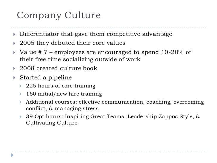 b marketing management case study report zappos