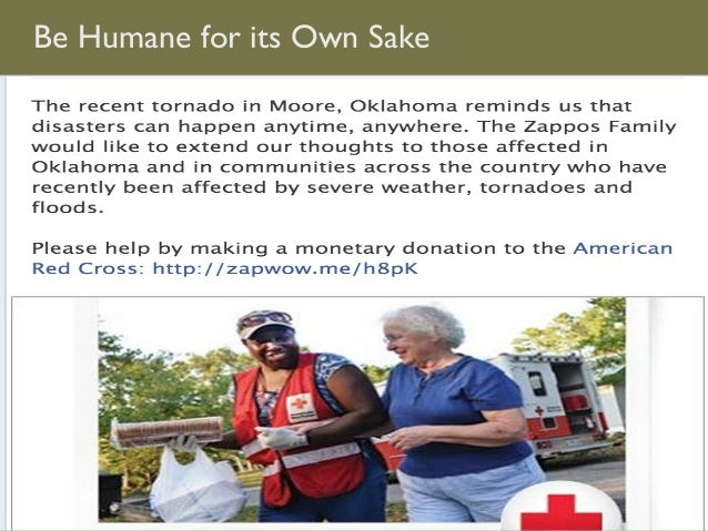 Be Humane for its Own Sake
