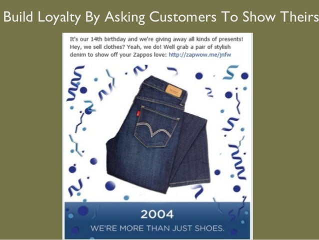 Build Loyalty By Asking Customers To Show Theirs