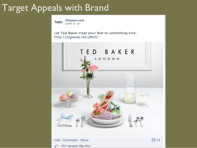 Target Appeals with Brand