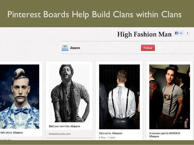 Pinterest Boards Help Build Clans within Clans