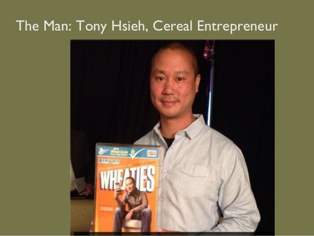 The Man: Tony Hsieh, Cereal Entrepreneur
