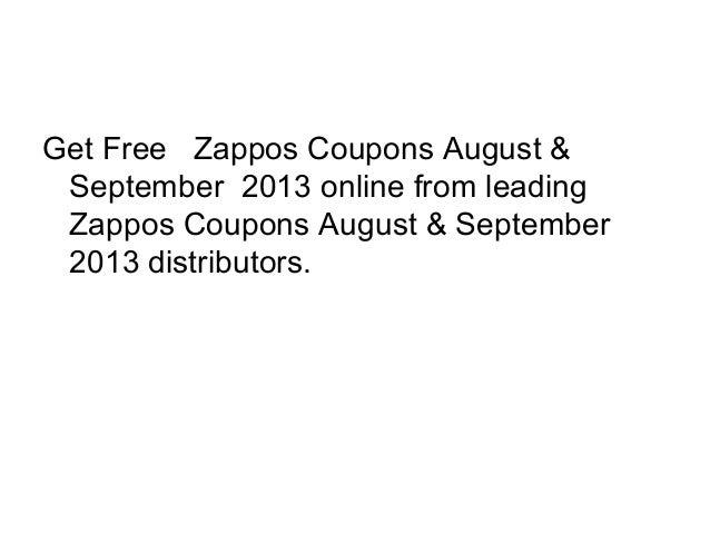 Zappos online coupon code