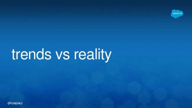 @kyleplacy trends vs reality