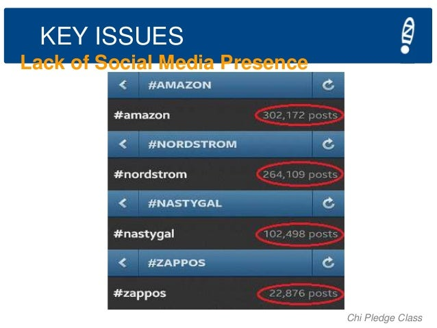 KEY ISSUES Lack of Social Media Presence  Chi Pledge Class