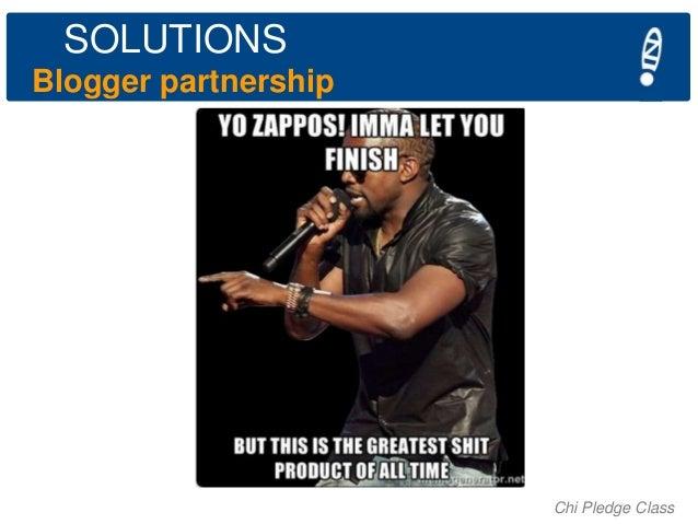 SOLUTIONS Blogger partnership  Chi Pledge Class