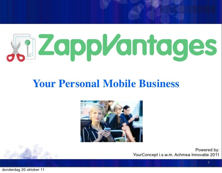 Your Personal Mobile Business                                                                 Powered by:                 ...