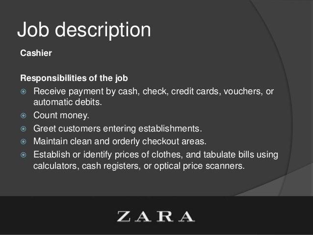11. Job Description Cashier Responsibilities ...