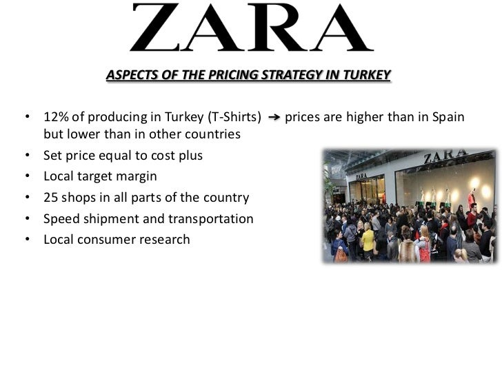 ZARA Marketing Mix and Marketing Strategy