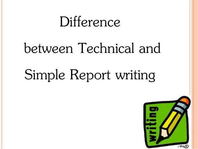 difference between technical and nontechnical writing pdf