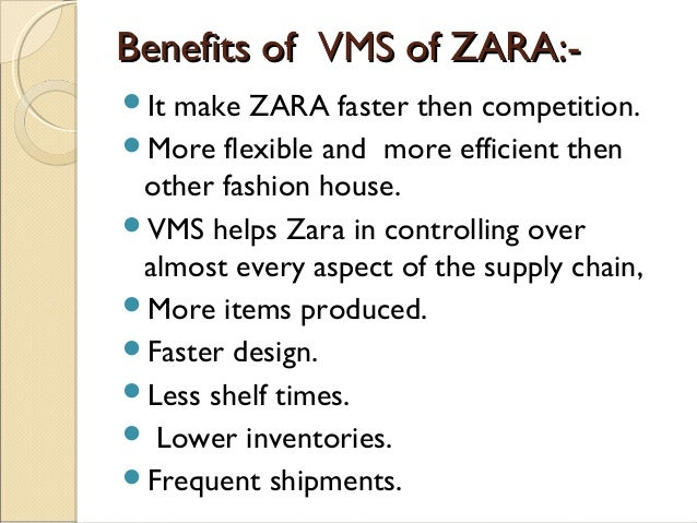 zara disadvantages  as zara, h&m, gap and others—but it remains the most prominent to  or  disadvantages of cutting out middleman—and the additional work.