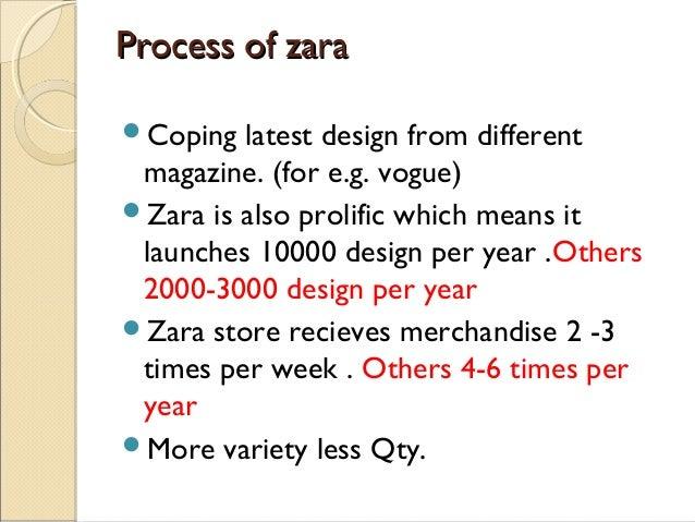 Zara's Counter-Intuitive Business Model Essay Sample