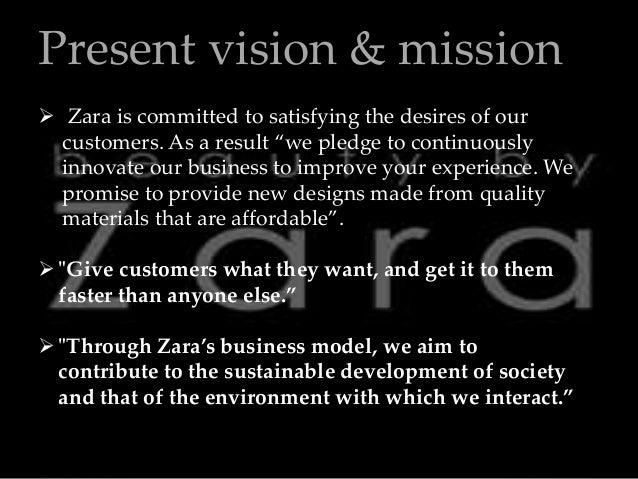 Inditex mission vision