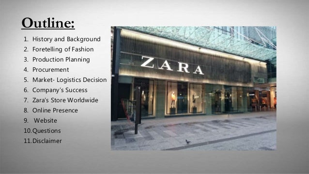 zara history and background These three retailers are the spanish zara, swedish h&m and japanese  uniqlo to do this, firstly the history of each of the brands is briefly.