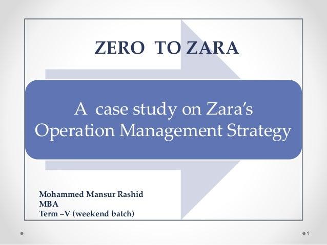 zara case study