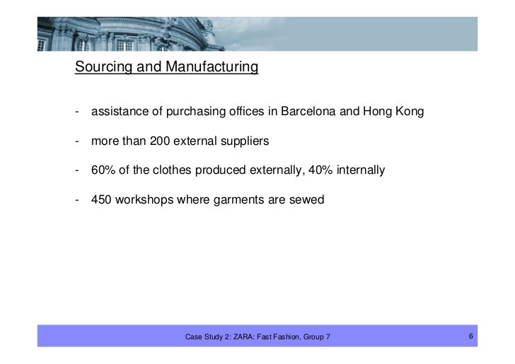 Sourcing and Manufacturing  -   assistance of purchasing offices in Barcelona and Hong Kong  -   more than 200 external su...